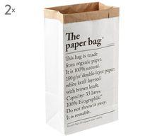 Aufbewahrungstüte Le sac en papier (2er-Set)