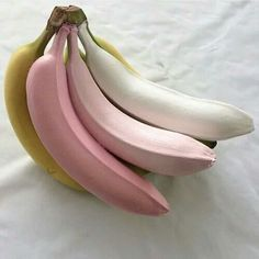 Image de banana, pink, and food
