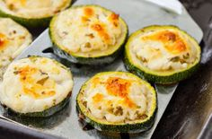 Grilled courgettes with feta recipe - goodtoknow
