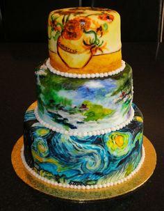 Van gogh cakes
