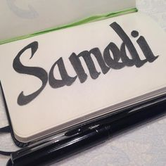 Samedi lettering #DCAout