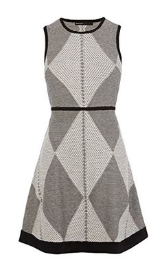 Tribal knitted dress