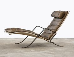 Design is fine. History is mine. Jørgen Kastholm & Preben Fabricius, prototype lounge chair Grashopper, 1967. Via FrankLandau