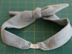 DIY: 50s Style Bowtie Headband