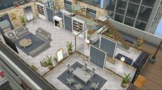 The Sims, Sims New, Sims Free Play, Sims Freeplay Houses, Architecture Design, Apartment Floor Plans, Build Your Own House, Sims House, Interior Decorating