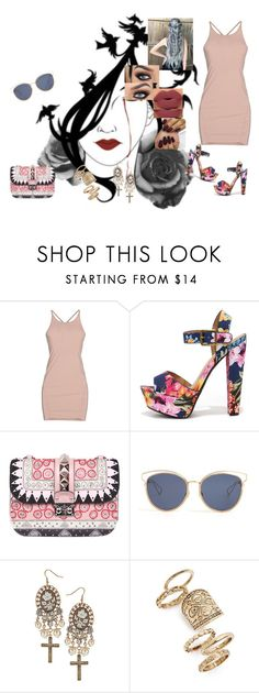 """""""In The Naome Of Love #MartinGarrix Ft.BebeRexha"""" by diane-ds ❤ liked on Polyvore featuring Osklen, My Delicious, Valentino, Christian Dior, Dorothy Perkins and Topshop"""