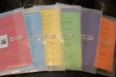 Packets to use from birth to 4th grade.