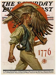 The Saturday Evening Post - June 1929 cover illustration by Norman Rockwell Vintage Posters, Vintage Art, Jc Leyendecker, Norman Rockwell Art, Anime Sensual, Graphisches Design, Saturday Evening Post, American Illustration, Art Graphique