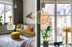 wohnzimmer, gelb