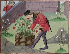 [folio 026r] MS. Douce 195 (Le roman de la rose) Robinet Testard  http://romandelarose.org/#browse;Douce195