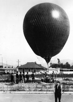 ekstatics:  Buster Keaton, The Balloonatic (1923)
