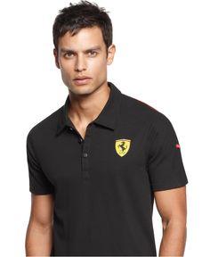 Puma Shirt, Ferrari Shield Polo - Shop All Activewear - Men - Macys