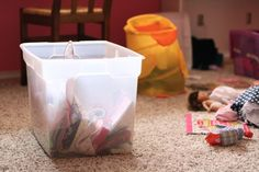 How to Make It Easier to Clean Kids' Rooms
