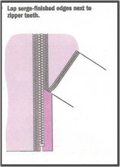 Learn How to Use a Serger to Insert a Zipper!  Plus, enter to win a Baby Lock Ovation Serger!