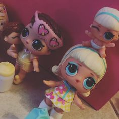 Confetti poppin!!! Big sisters spending time with little sisters. #lolsurpriselilsisters #lolsurprise #lolsurprisedolls #lolsurpriseconfettipop