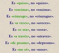 Spanish Grammar, Spanish Vocabulary, Teaching Spanish, Spanish Language, Writing A Book, Writing Tips, Grammar Lessons, Spanish Classroom, Spanish Lessons