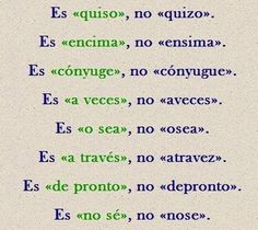 Escribe correctamente Spanish Grammar, Spanish Vocabulary, Teaching Spanish, Spanish Language, Writing A Book, Writing Tips, Grammar Lessons, Spanish Classroom, Spanish Lessons