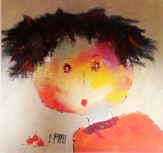 Christine Barrès, Albertine, Peinture Watercolor Face, Watercolor Paintings, Art En Ligne, Pablo Picasso, Art Plastique, Color Themes, Figurative Art, Painting Inspiration, Pop Art