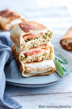 Ww Recipes, Healthy Recipes, Tacos And Burritos, Healthy Burritos, Manger Healthy, Plats Healthy, Healthy Wraps, Healthy Sandwiches, Love Eat