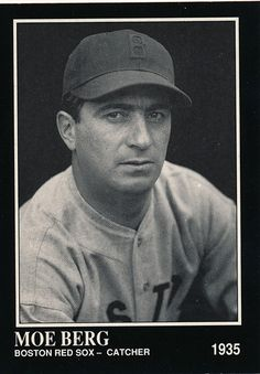 big sale ace33 a1b83 Moe Berg - Jewish Baseball Museum