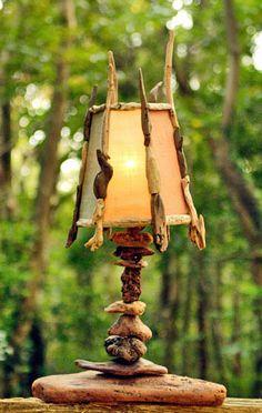 #流木の照明 2006ー1 #流木 #流木アート #Light of #driftwood art