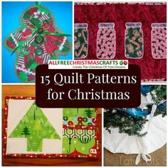 15 Quilt Patterns for Christmas