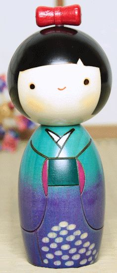 Japanese Wooden Doll-Kokeshi
