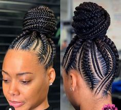 Beautiful braids if you want to see more click in the link and watch all my videos 😍💞 Braided Cornrow Hairstyles, Feed In Braids Hairstyles, Braids Hairstyles Pictures, Braided Hairstyles For Black Women, African Hairstyles, Hair Pictures, Black Hair Braid Hairstyles, Kid Hairstyles, Hairdos