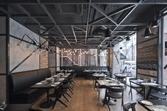 KNRDY_ steak bar _restaurant by suto , via Behance
