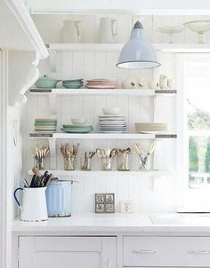 Pastel inspiration. Click to see a roundup of pretty in pastel rooms on my website!