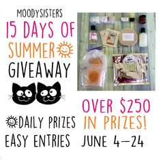 15 Days of Summer: Daily Giveaway — Moody Sisters Skincare