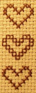 cross stitch book mark | ... Cross Stitch Bookmark - Materials and Stitches Used for Cross Stitch