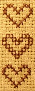 cross stitch book mark   ... Cross Stitch Bookmark - Materials and Stitches Used for Cross Stitch