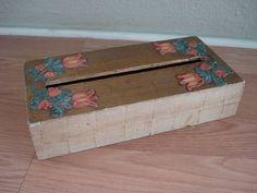 Vintage 1960s Tissue Box Cover 2012150