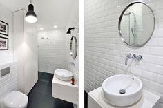 Mieszkanie na Woli   Apartment in Wola, Warsaw - Marta Czeczko - architektura wnętrz   interior design Toilet, Bathtub, Interiors, Bathroom, Standing Bath, Washroom, Flush Toilet, Bathtubs, Bath Tube