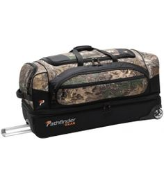 Pathfinder Gear-Up Realtree X-tra 26in Drop Bottom Duffel   #patherfinder #luggage #travel #realtree #camo #luggagefactory   http://www.luggagefactory.com/pathfinder-luggage
