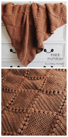 Crochet Afghans 734086807993996028 - Farmhouse Granny Square Blanket Free Crochet Pattern + Video Source by Motifs Afghans, Crochet Afghans, Afghan Crochet Patterns, Crochet Blankets, Crochet Quilt, Diy Blankets, Muslin Blankets, Crochet Pillow, Tunisian Crochet