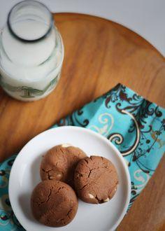 gluten free chocolate espresso cookies