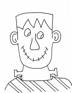 Free Kids Coloring Pages: Dracula, Frankenstein and