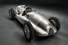 Auto Union Type D twin-supercharged racer