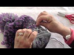 Lining a Knit Hat with Fleece - https://www.youtube.com/watch?v=vkwAuDbQGoo
