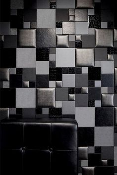 Faux Leather Tiles for Stylish & Creative Wall Decors