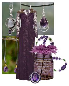 """Amethyst"" by jessica020389 ❤ liked on Polyvore"