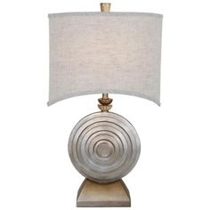 Van Teal Ofra Brilliant Silver Table Lamp