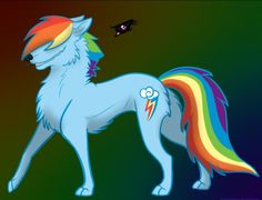 Mlp wolf fan art. I did not draw this