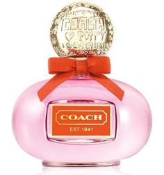 Coach poppy perfume <3 I don't love the way it smells at first in the bottle but on me I think it smells REALLY amazing. Its always hard to judge a perfume until you know how it smells on your skin.