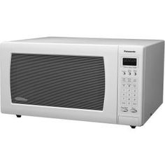 Panasonic Full Size 1 6 Cu Ft 1250w Microwave Oven White Nnh765wf At
