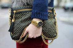 Studded bag, you'll wanna take it everywhere with you.