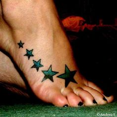 possible left foot tattoo