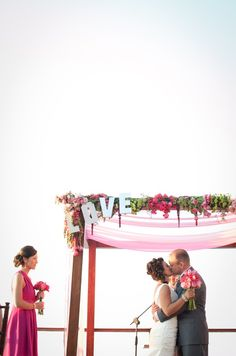 negative space, letters #wedding